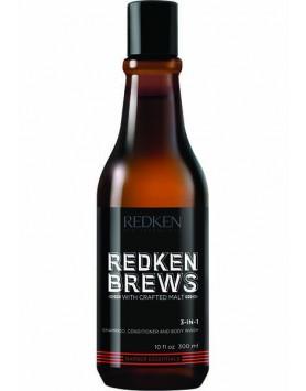REDKEN BREW 3 IN 1 SHAMP 10.1OZ